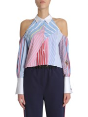 TOMMY HILFIGER - CAMICIA CROPPED