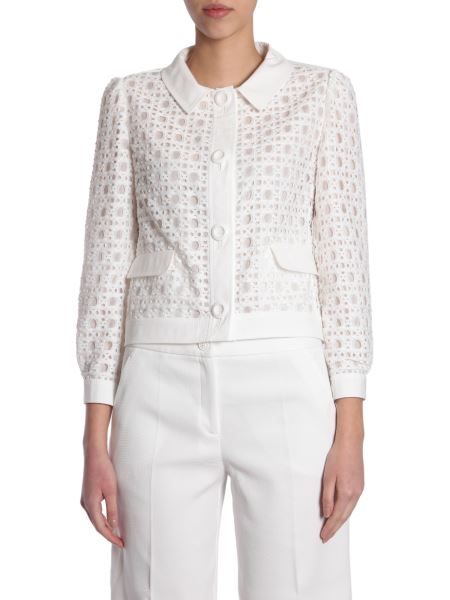 Boutique Moschino - Sangallo Lace Blazer With Buttons