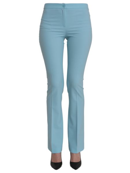 Boutique Moschino - Flare Trousers In Stretch Wool