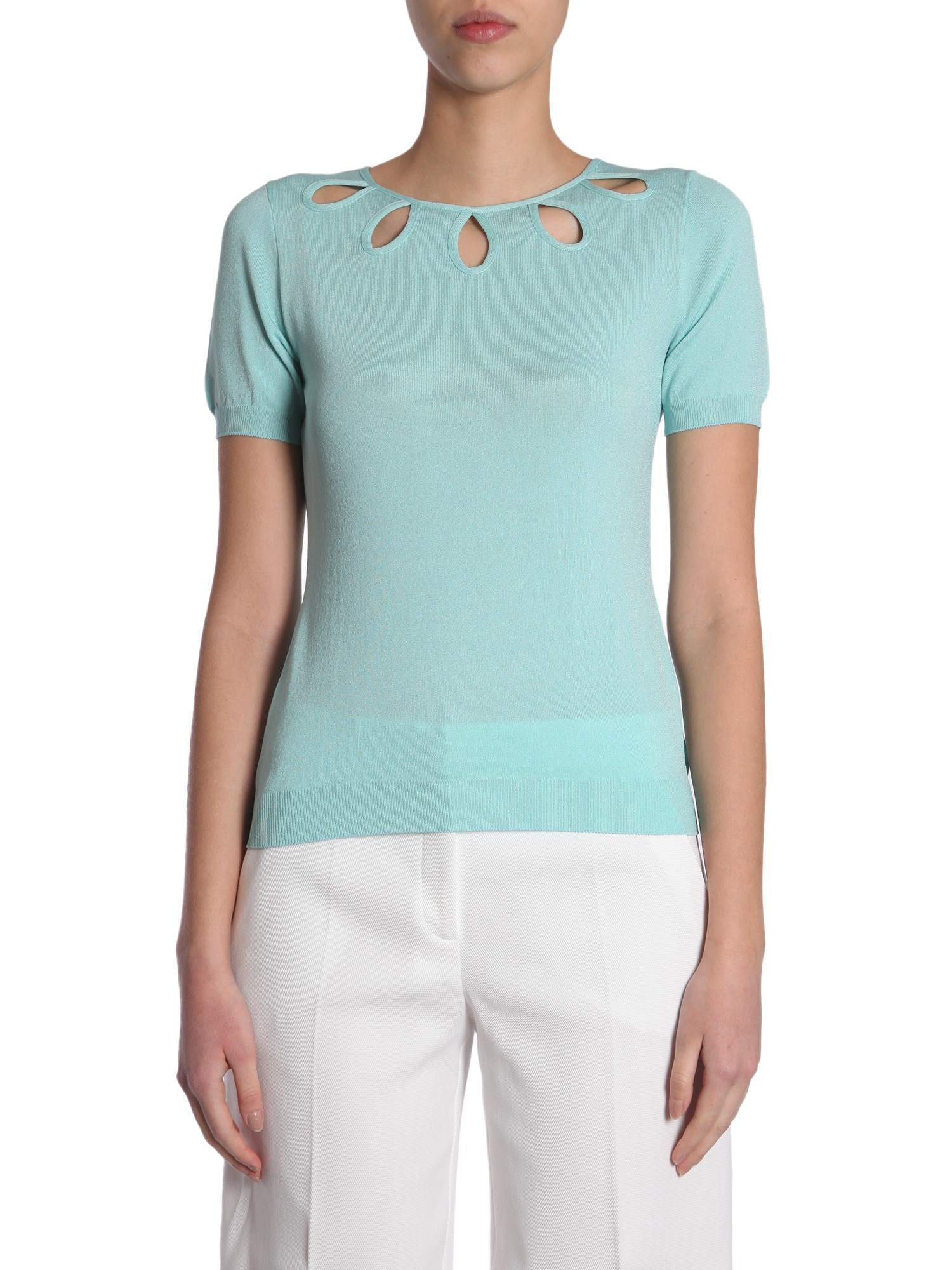 Short sleeve jumper - boutique moschino - Modalova