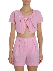 BOUTIQUE MOSCHINO - BOLERO A RIGHE