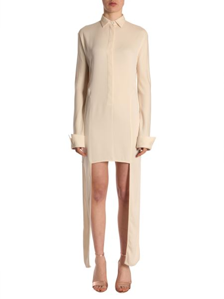 Jw Anderson - Crêpe Tunic With Floor Length Ribbons