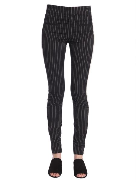 Haider Ackermann - Slim Fit Pinstriped Trousers With Side Band