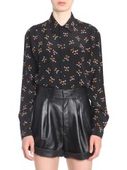 SAINT LAURENT - CAMICIA CON STAMPA MICKEY MOUSE