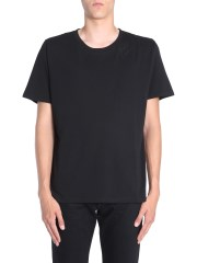 SAINT LAURENT - T-SHIRT CON RICAMO SAINT LAURENT SIGNATURE