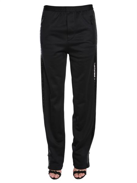 Dsquared - Jogging Trousers With Double Sequin Band