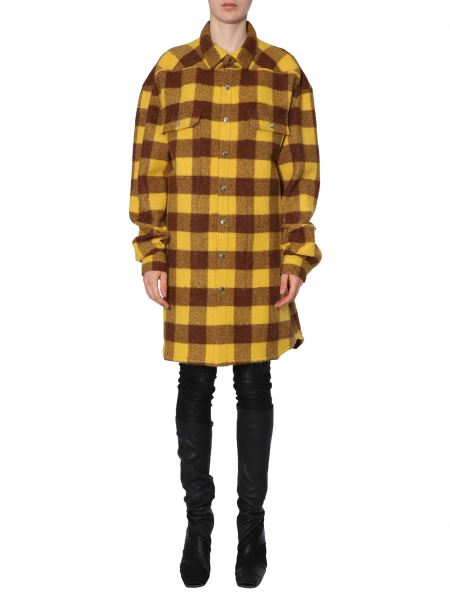 Rick Owens - Camicia Oversize Fit