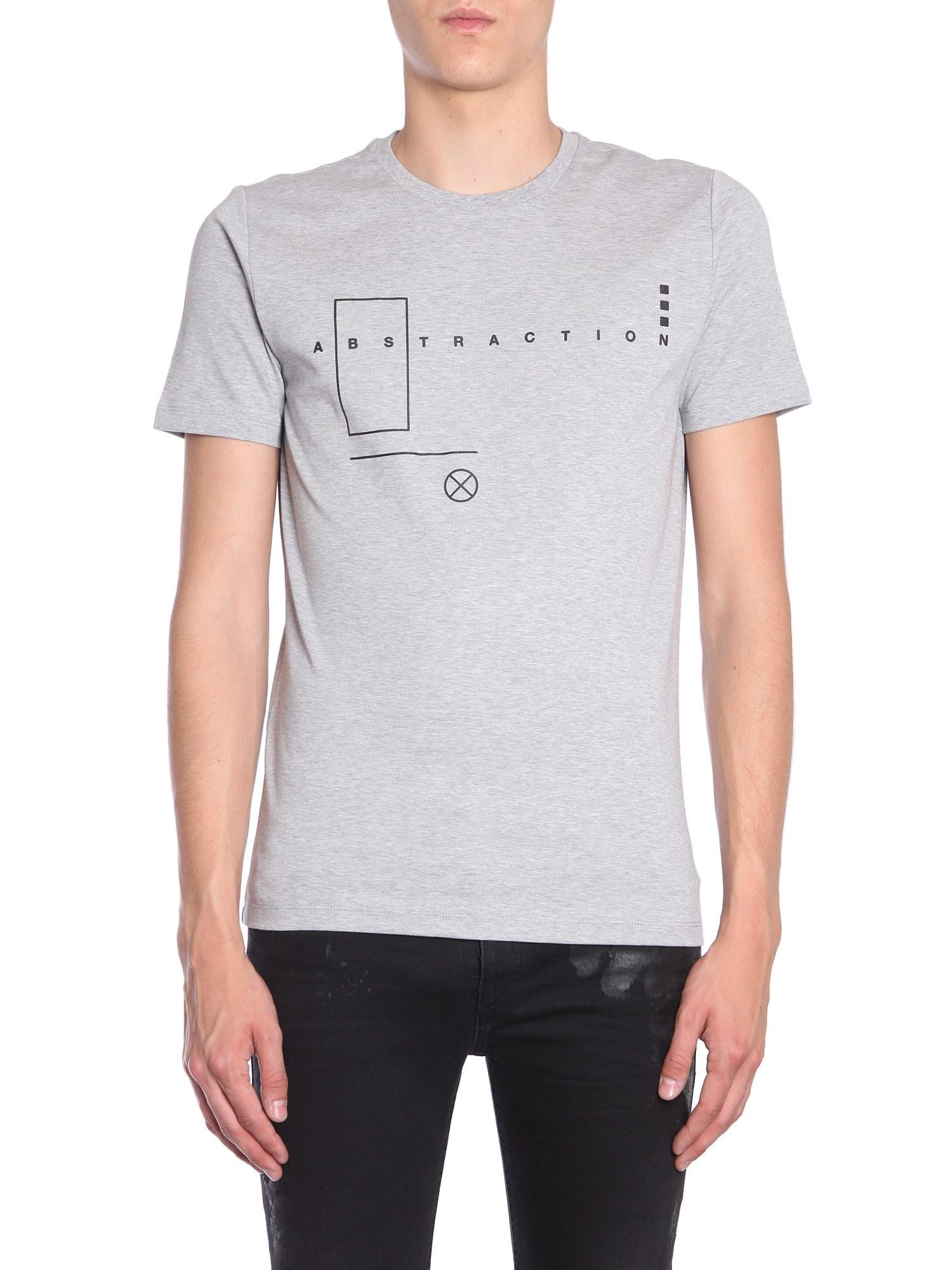 "Ty-abstraction"" t-shirt - diesel black gold - Modalova"
