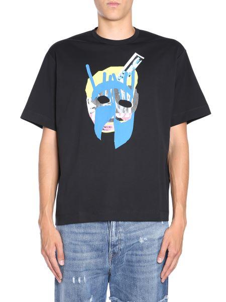 "Diesel Black Gold - ""teorial-m10"" Coton T-shirt"