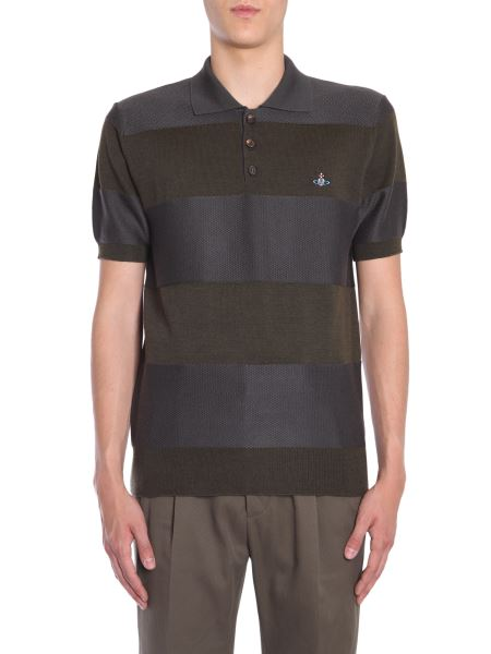 Vivienne Westwood - Polo A Righe In Lana