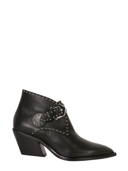 Givenchy - Cowboy Studded Leather Ankle Boots