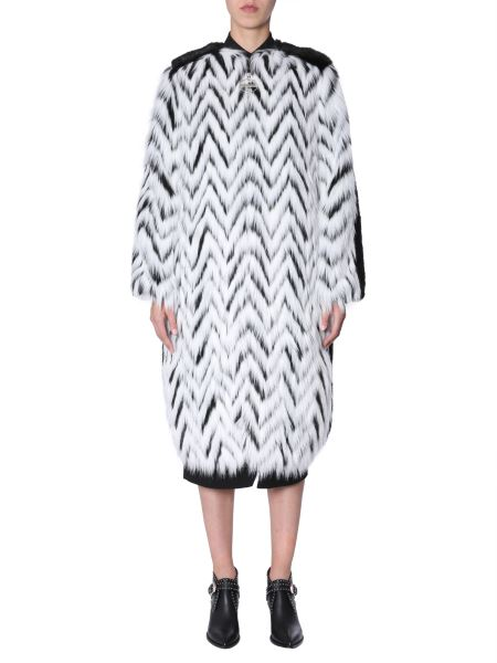 Givenchy - Cappotto In Ecopelliccia