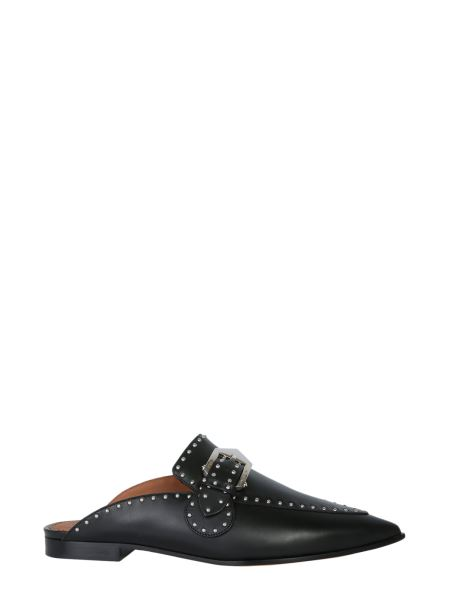 Givenchy - Studded Leather Loafers