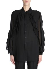 GIVENCHY - CAMICIA IN GEORGETTE DI SETA