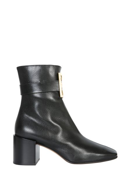 Givenchy - 4g Leather Ankle Boots