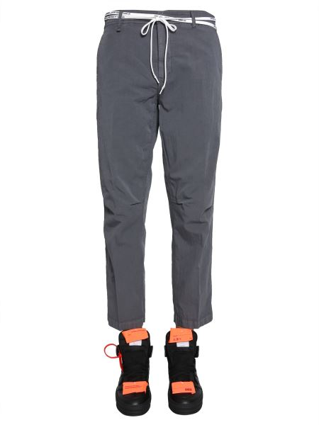 Off-white - Pantalone Tapered Chino In Cotone