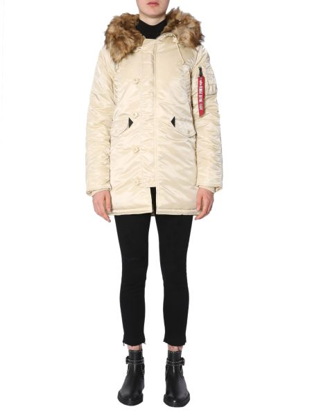 "Alpha Industries - ""n3b Vf 59"" Parka With Fur-rimmed Hood"