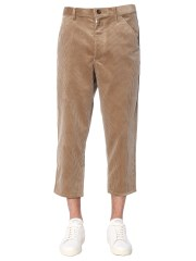 COMME DES GARCONS SHIRT BOY - PANTALONE IN VELLUTO COSTINE