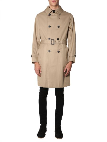Mackintosh - Classic Trench In Rubber Cotton