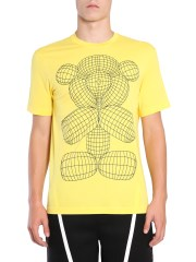 BLACKBARRETT BY NEIL BARRETT - T-SHIRT GIROCOLLO