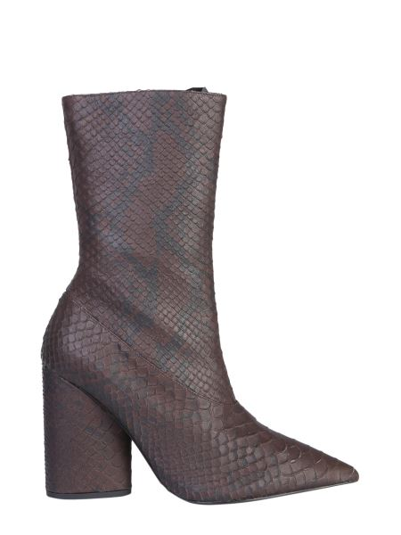 Yeezy Season 7 - Snake Effect Leather Boots