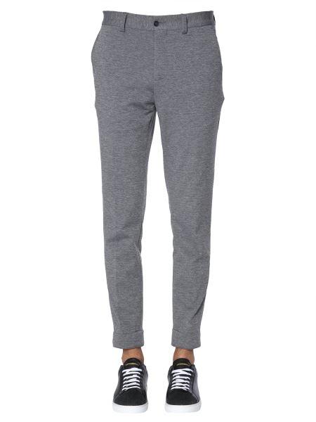 Traiano - Cotton Jersey Biker Trousers