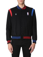 MARCELO BURLON COUNTY OF MILAN - BOMBER IN CO-LAB NBA