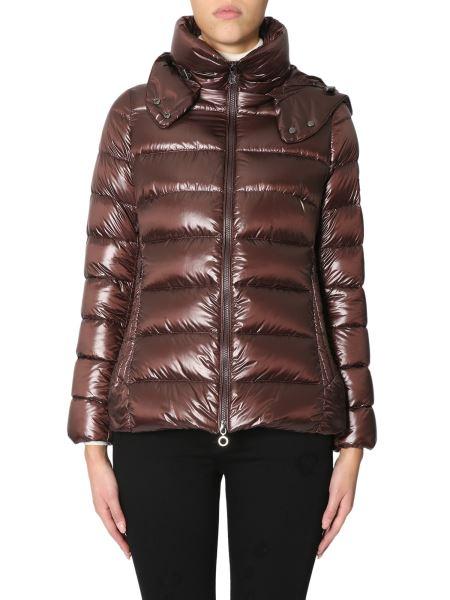 """Tatras - """"drena"""" Down Jacket With Shiny Nylon Hood"""