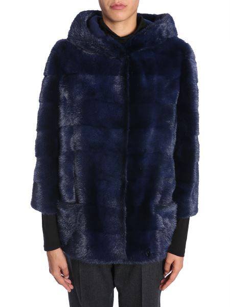 Simonetta Ravizza - Hooded Mink Fur Jacket