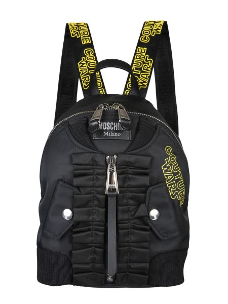 Moschino - Couture Wars Fabric Backpack Bomber