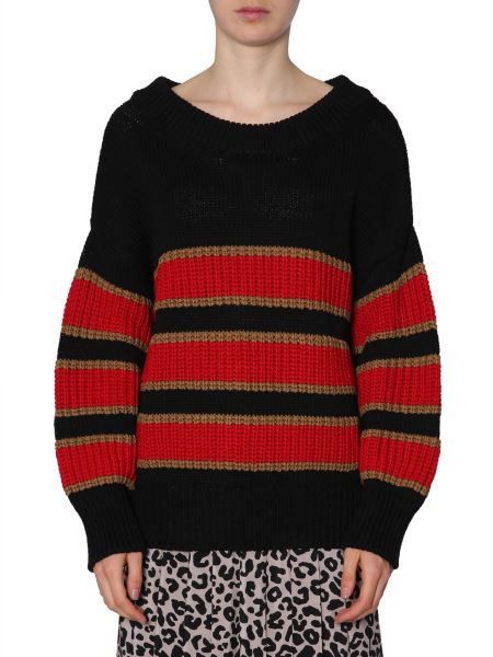 N°21 - Striped Cotton Sweater