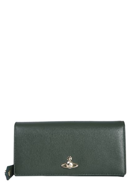 Vivienne Westwood - Continental Victoria Wallet With Orb