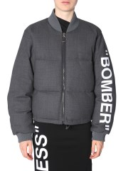 OFF-WHITE - BOMBER OVERSIZE FIT
