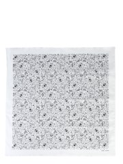 SAINT LAURENT - FOULARD USA SKULL