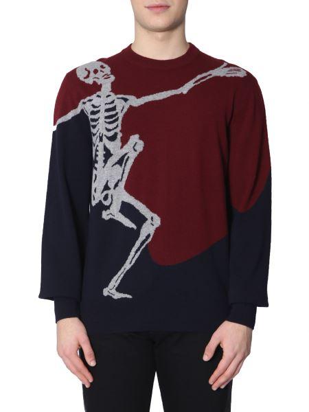 Alexander Mcqueen - Maglia Con Dancing Skeleton