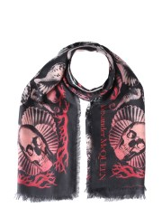 ALEXANDER McQUEEN - FOULARD DREAM SHELL