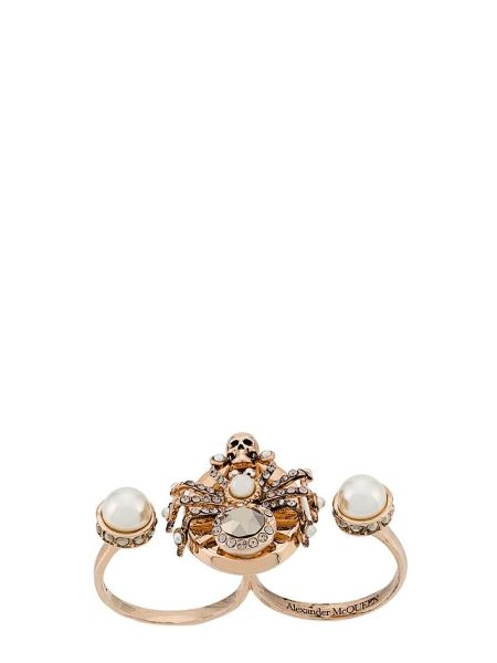 Alexander Mcqueen - Spider Double Brass Ring