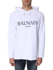 BALMAIN - FELPA CON CAPPUCCIO