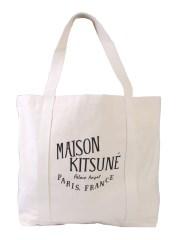 MAISON KITSUNÉ - SHOPPING BAG PALAIS ROYAL
