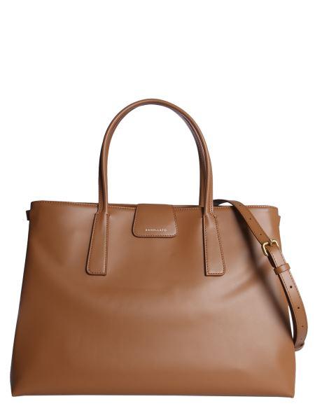 Zanellato - Silver Metropolitan Shopping Duo Bag