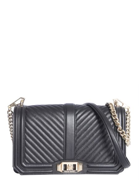 Rebecca Minkoff - Love Chevron Quilted Leather Shoulder Bag