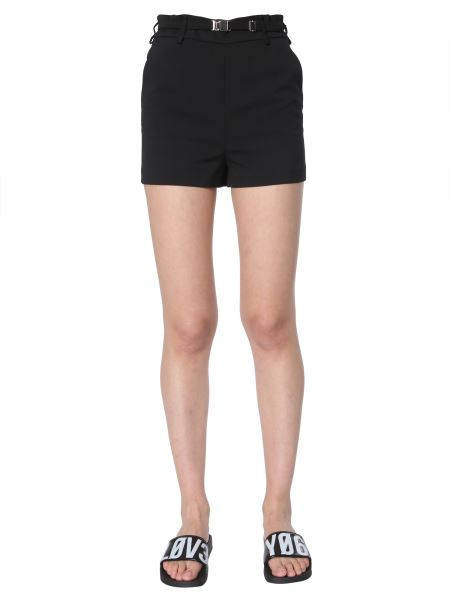 Red Valentino - Shorts In Tricotine Tech