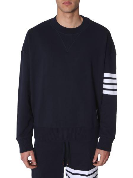 Thom Browne - Cotton Crewneck Sweatshirt