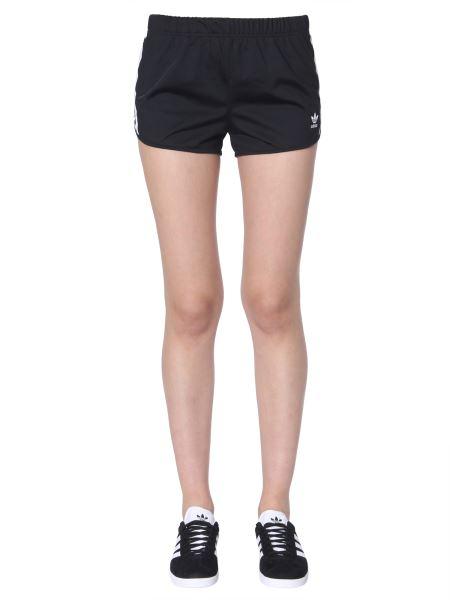 Adidas Originals - 3-stripes Acetate Shorts
