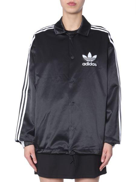 Adidas Originals - Giacca Coach In Tessuto Tecnico