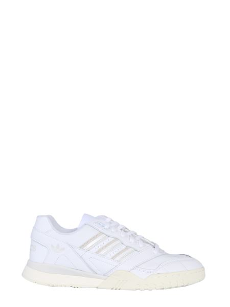 Adidas Originals - A.r. Leather Trainer Sneakers