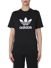 ADIDAS ORIGINALS - T-SHIRT GIROCOLLO IN COTONE