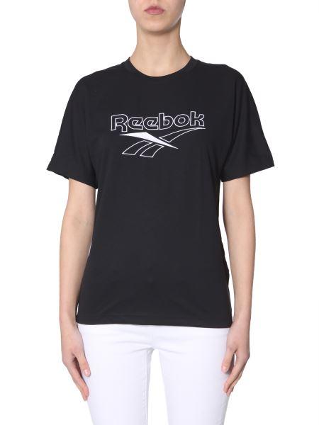 Reebok Classics - Logo-embroidered Cotton Crewneck T-shirt