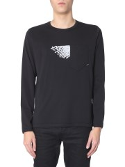 STONE ISLAND SHADOW PROJECT - T-SHIRT A MANICHE LUNGHE