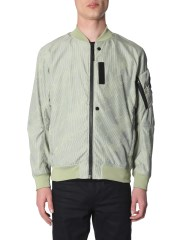 STONE ISLAND SHADOW PROJECT - BOMBER LENTICULAR JACQUARD
